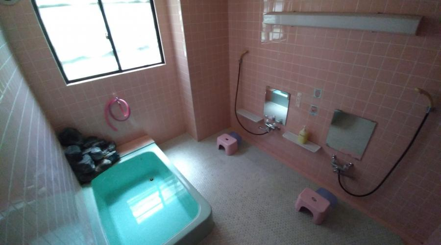 Nozawa Dream Central - ladies shower room (shared)